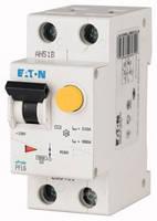 Дифференциальный автоматический выключатель PFL6 1P+N 6кА C 16А 30mA Eaton (Moeller)
