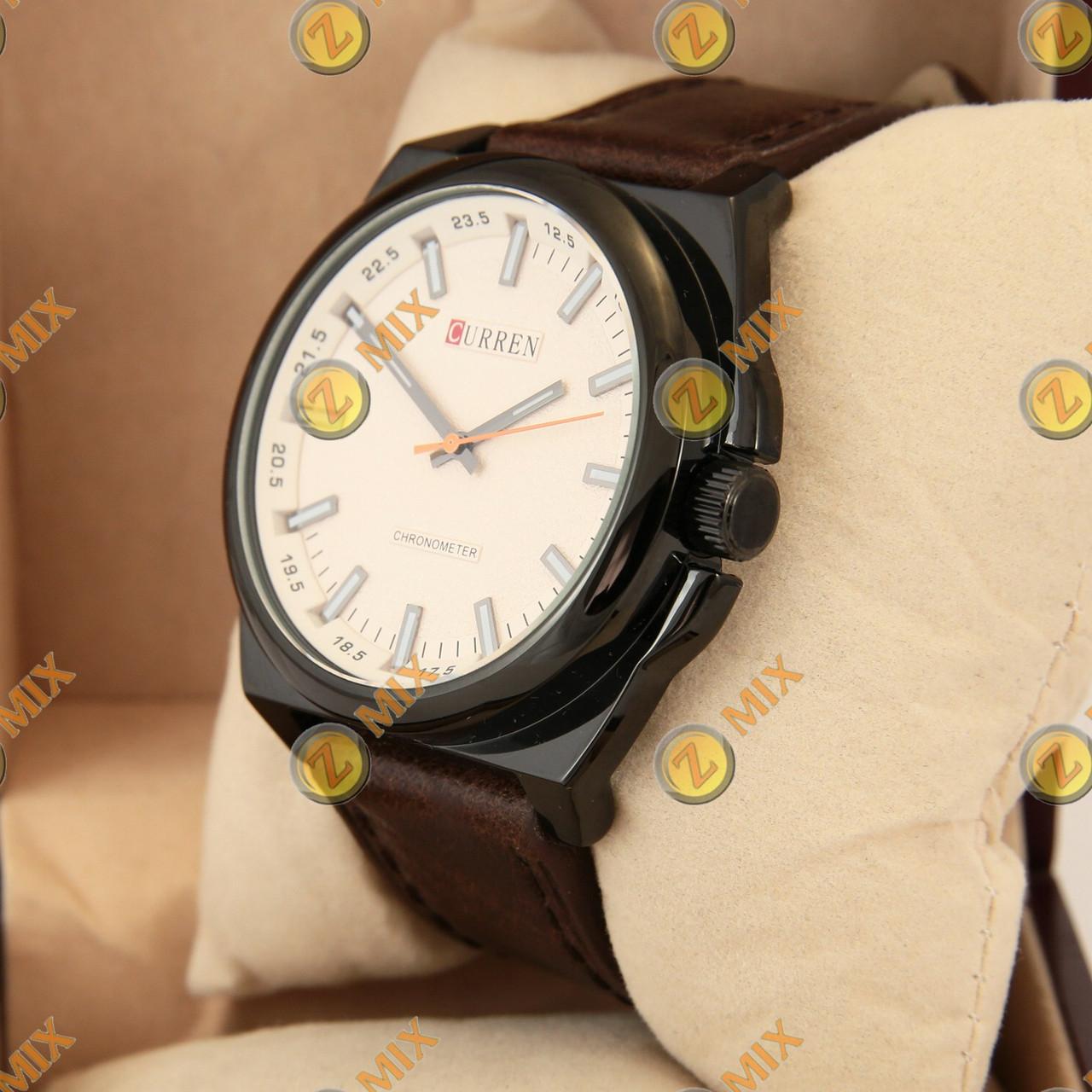 30f9704ab008 Часы Curren Classico 8168 Black White — в Категории