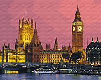 "Картина по номерам. Brushme ""Ночной Лондон"" GX27906"