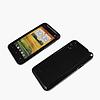 Силиконовый чехол для HTC Desire VT T328T (черный цвет)