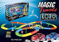 🔝 Magic Tracks 360 (модель B) - игрушечный гоночный трек-конструктор + 2 машинки, с доставкой по Украине, Конструктори і гоночні треки, Конструкторы и
