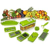 🔝 Многофункциональная овощерезка, слайсер, Nicer Dicer plus, кухонная терка, Овочерізки, терки, подрібнювачі продуктів, Овощерезки, терки,