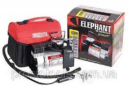 Компрессор автомобильный с манометром (прикуриватель)  Elephant KA-12300