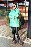 Куртка женская чёрная, пудра, мята,бежевый, серый, бордо, оливка, хаки, фото 2