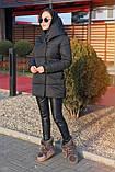 Куртка женская чёрная, пудра, мята,бежевый, серый, бордо, оливка, хаки, фото 7
