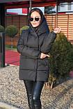 Куртка женская чёрная, пудра, мята,бежевый, серый, бордо, оливка, хаки, фото 8