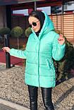 Куртка женская чёрная, пудра, мята,бежевый, серый, бордо, оливка, хаки, фото 5