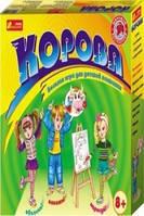 """Игра для веселой компании """"КОРОВА для детей"""" Ранок"""