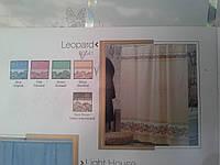 Шторка,занавеска в ванную комнату Miranda(leopard)