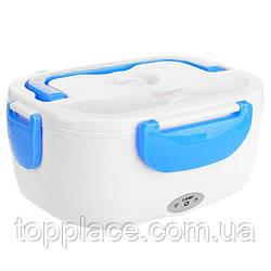 Ланч-Бокс с подогревом Electric Lunch Box Y001 от сети 12V, Blue (LS1010053881)