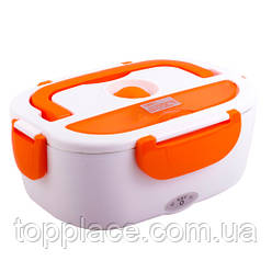 Ланч-Бокс с подогревом Electric Lunch Box Y001 от сети 12V, Orange (LS1010053882)