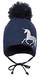 Зимняя шапка для девочки арт.ILIADA р.45,47, фото 3