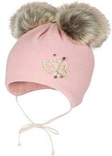 Зимняя шапка для девочки арт.MONICA р.47,49,51