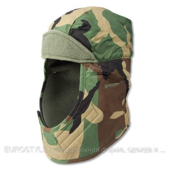Армейская шапка нашлемник зимняя США