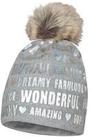 Зимняя шапка для девочки арт.CARLA р.51,53, фото 1
