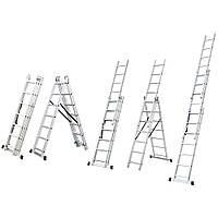 Лестница SIGMA раскладывающаяся универсальная 12 ступенек(5032354)
