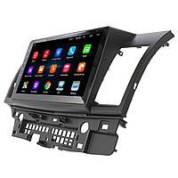 Штатная автомобильная магнитола для Mitsubishi Lancer X 10.1 (2007-2017) GPS Wi Fi 4G IGO Android 8.1