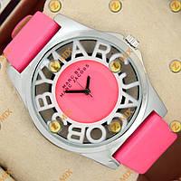 Часы Marc Jacobs Henry Skeleton Pink