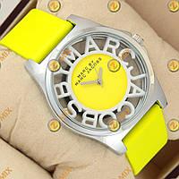 Часы Marc Jacobs Henry Skeleton Yellow