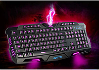 Профессиональная игровая радио клавиатура с подсветкой М200