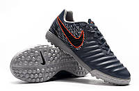 Футбольные сороконожки Nike Tiempo Legend VII Academy TF Armory Blue/Black/Hyper Crimson, фото 1