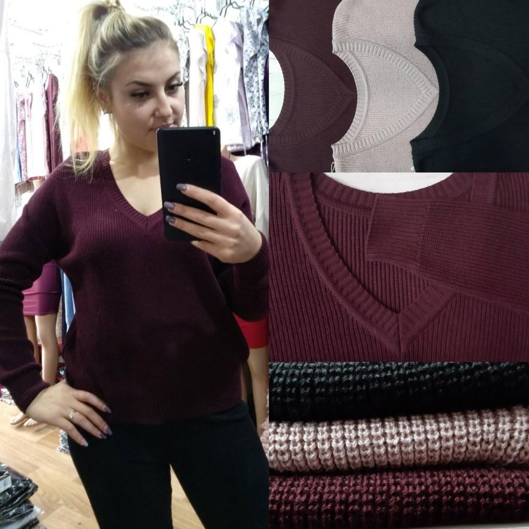Женский модный свитер  ИД730-1