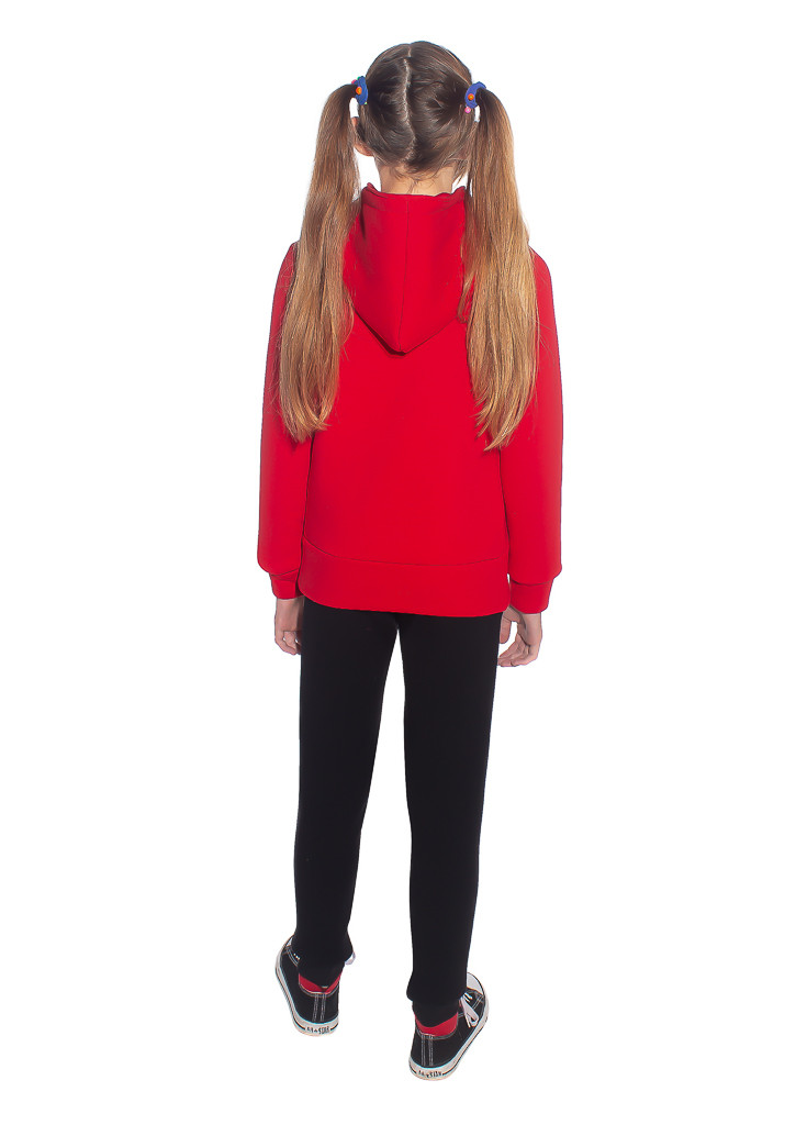 Теплый детский спортивный костюм под заказ - вид со спины