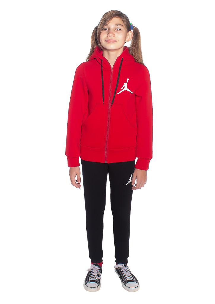 Зимний детский спортивный костюм с красной кофтой - фото teens.ua