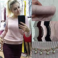 Женский модный свитер  ИД0128-1, фото 1