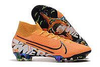 Футбольные бутсы Nike Mercurial Vapor XIII Elite LE FG Laser Orange/Black/Hyper Crimson, фото 1