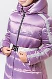 Зимняя куртка пальто на девочку, фото 8