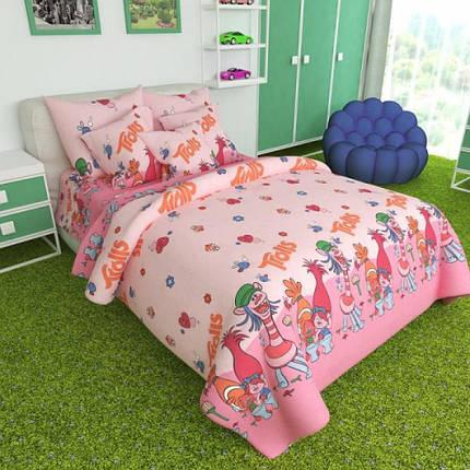 Постельное белье Тролли бязь ТМ Комфорт текстиль (подростковый), фото 2