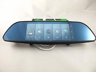 "Зеркало регистратор 7"" D35 / K35  на 2 камеры + GPS навигатор, WiFi, 8Gb Android 3G+ПОДАРОК!"