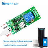 Smart WiFi реле дистанційного керування універсальний модуль DC5V 12V таймер вимикач для розумного будинку, фото 2