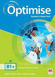 Optimise B1+ Student's Book Pack / Учебник
