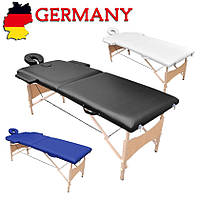 Массажный стол косметологическая кушетка складная DS 2х секционный Германия А1