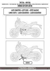 Защитные дуги GIVI TN1164 для мотоцикла HONDA CB 125 R
