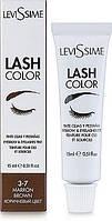 Фарба для брів і вій 3-7 (коричневий) Lash color Levissime
