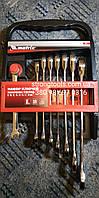 Набор ключей комбинированных, трещеточных 8 шт Matrix 14513, фото 1