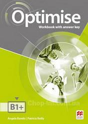 Optimise B1+ Workbook with answer key / Рабочая тетрадь с ответами