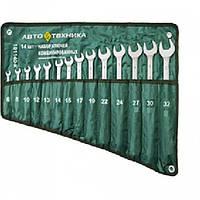 Набор комбинированных ключей 14 шт. Автотехника 101140