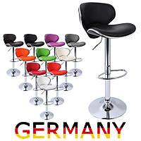 Хокер Барный стул BS186 дизайнерский из кожзама для барной стойки Германия А1