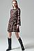 Стильное трикотажное платье, Marina V FW19-357, фото 2
