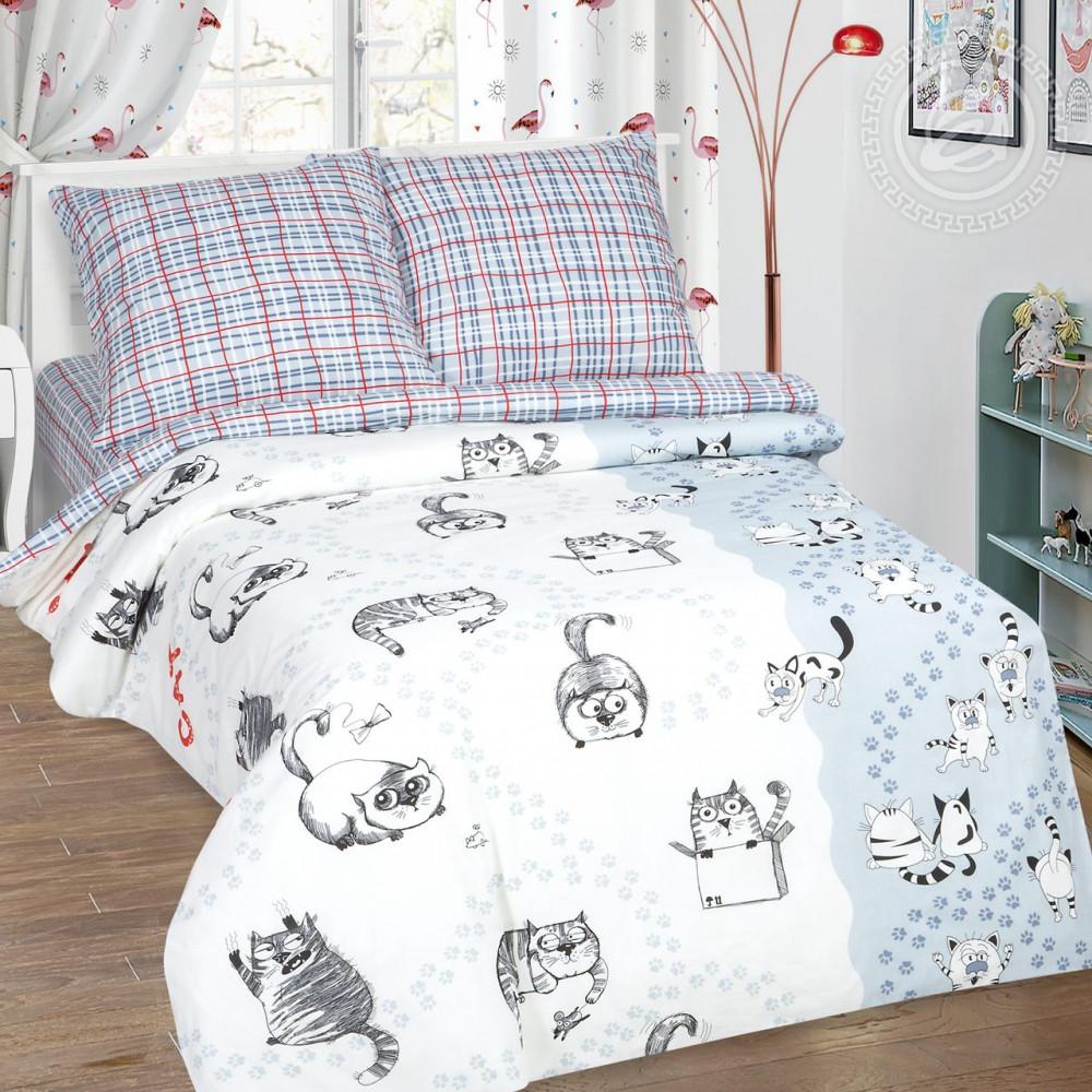 Постельное белье Мейсон поплин ТМ Комфорт текстиль двуспальный