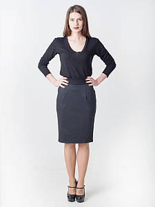 Женская деловая юбка-карандаш с карманами #I/Z