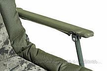Кресло карповое Mivardi усиненное до 130 кг Chair CamoCODE Arm (M-CHCCA), фото 2