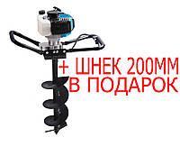Мотобур 2500Вт BauMaster EA-1525+Шнек 200 мм В ПОДАРОК!