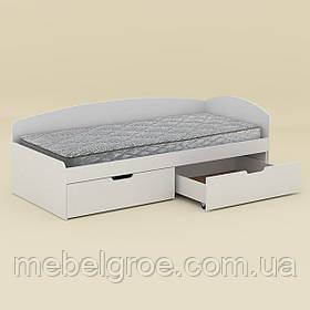 Односпальная кровать 90+2С тм Компанит
