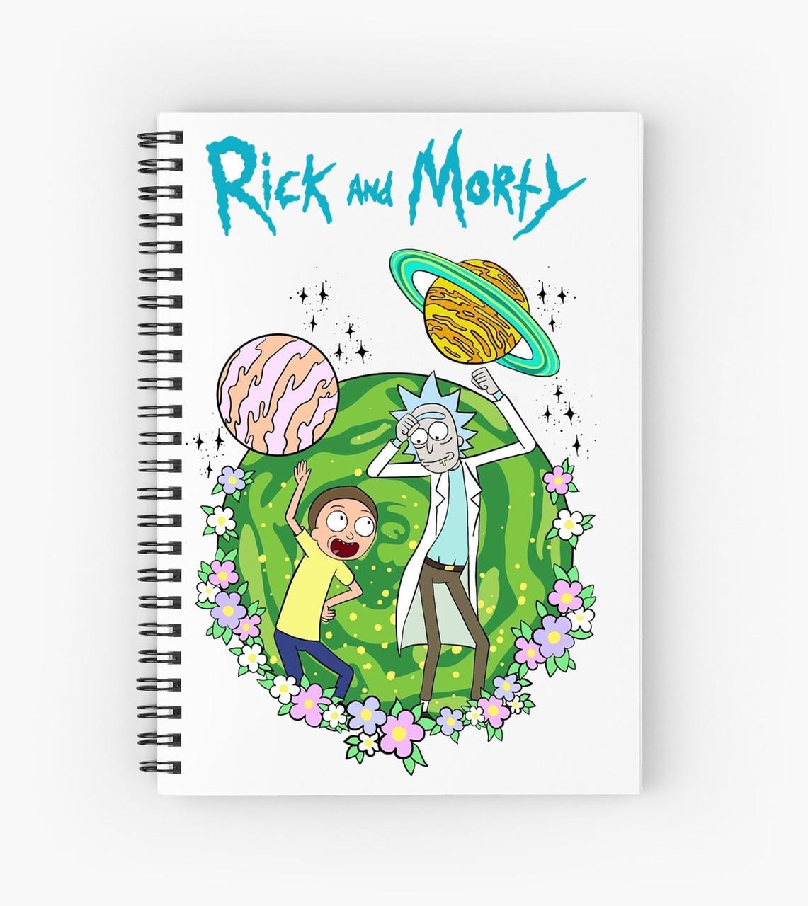 Блокнот Рик и Морти 1