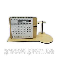 Календарь с подставкой под чашку
